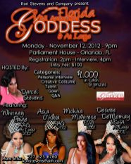 Show Ad | Florida All American Goddess at Large | Parliament House (Orlando, Florida) } 11/12/2012