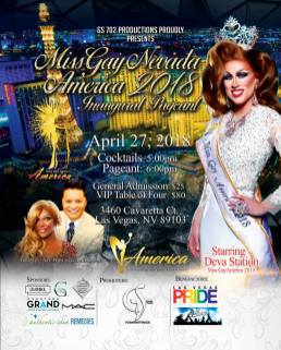Show Ad | Miss Gay Nevada America | The Space LV (Las Vegas, Nevada) | 4/27/2018
