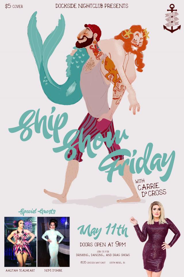 Show Ad | Dockside Nightclub (South Bend, Indiana) | 5/11/2018