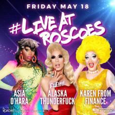 Show Ad   Roscoe's Tavern (Chicago, Illinois)   5/18/2018