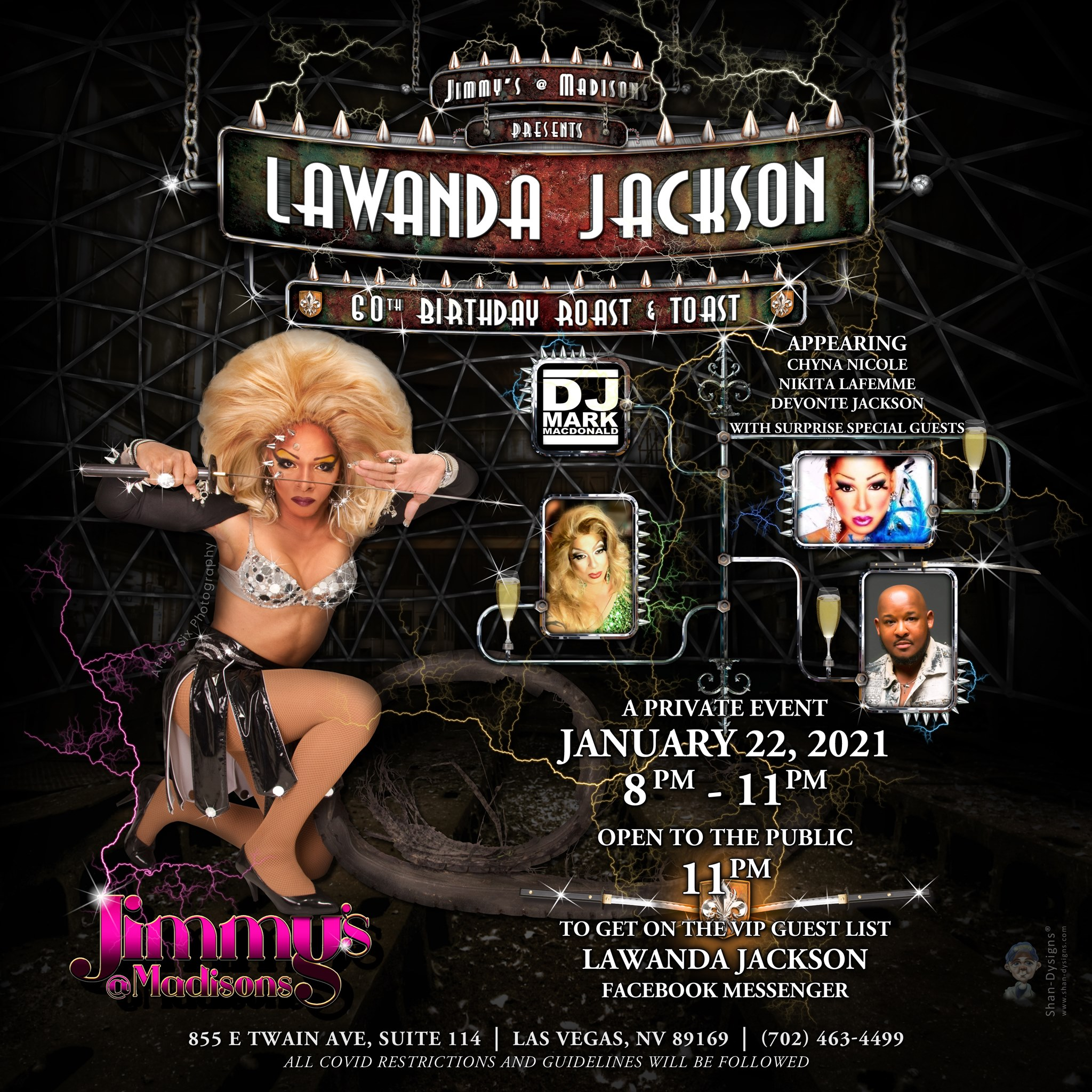 Ad | JImmy's @ Madison's (Las Vegas, Nevada) | 1/22/2021