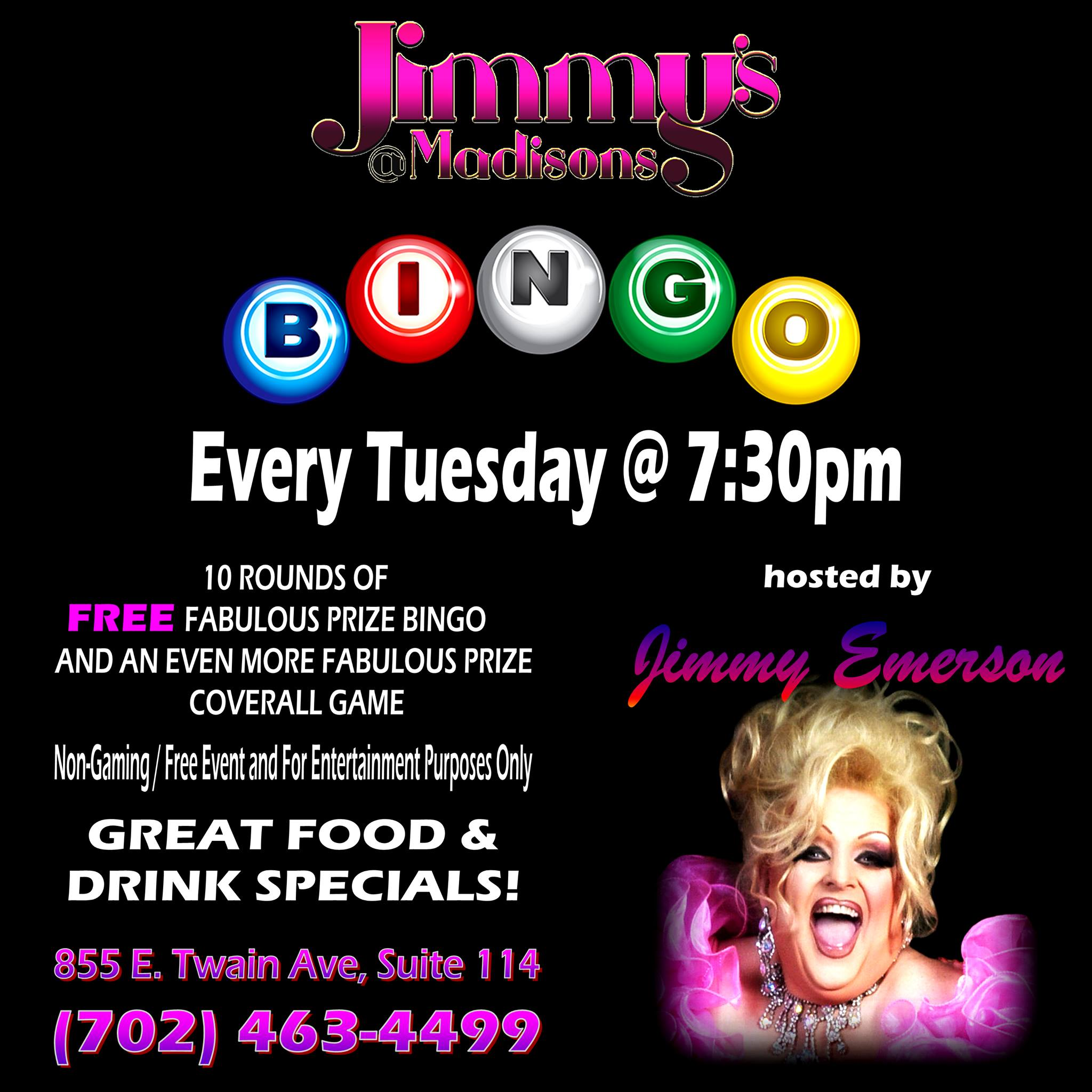 Ad | JImmy's @ Madison's (Las Vegas, Nevada) | 1/5/2021
