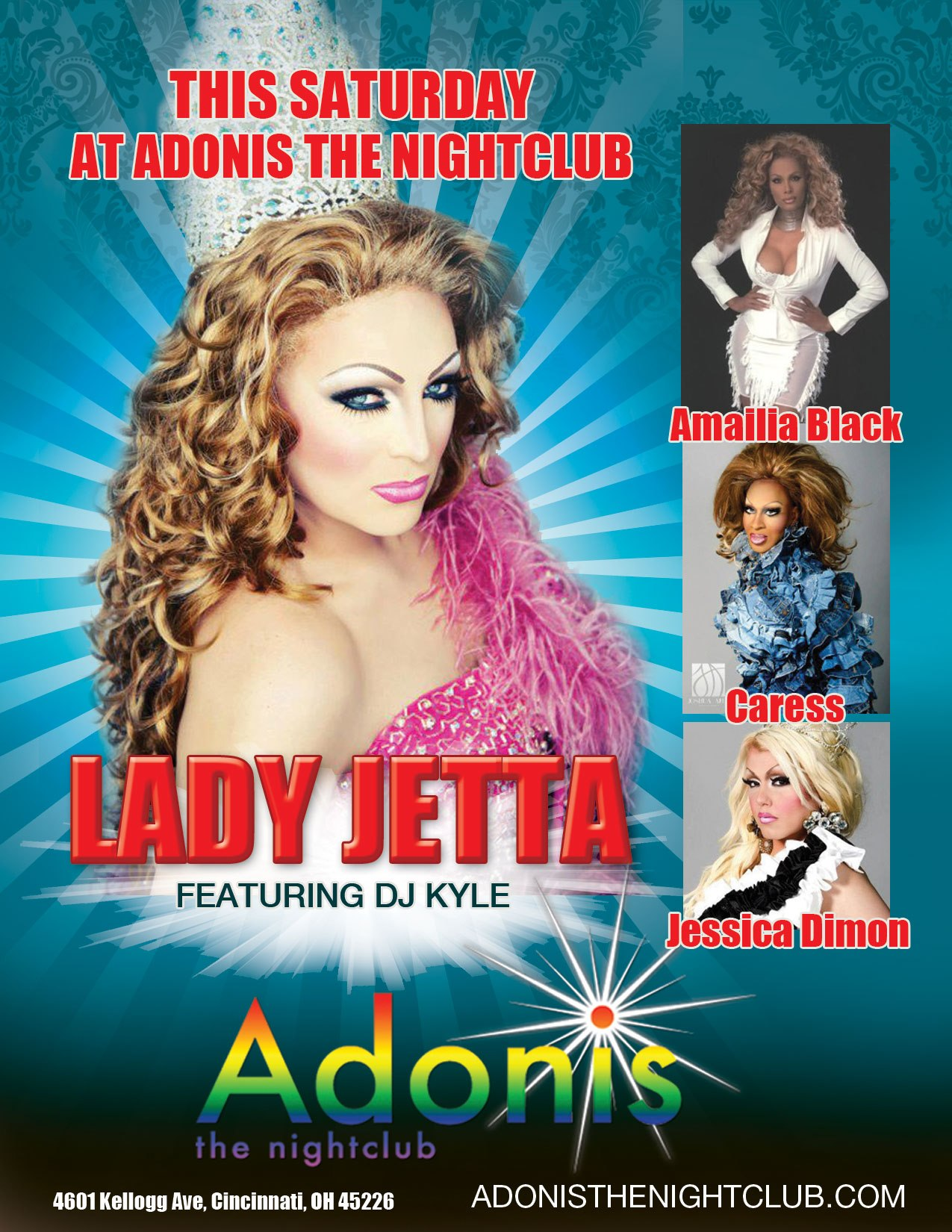 Ad | Adonis the Nightclub (Cincinnati, Ohio) | 10/13/2012