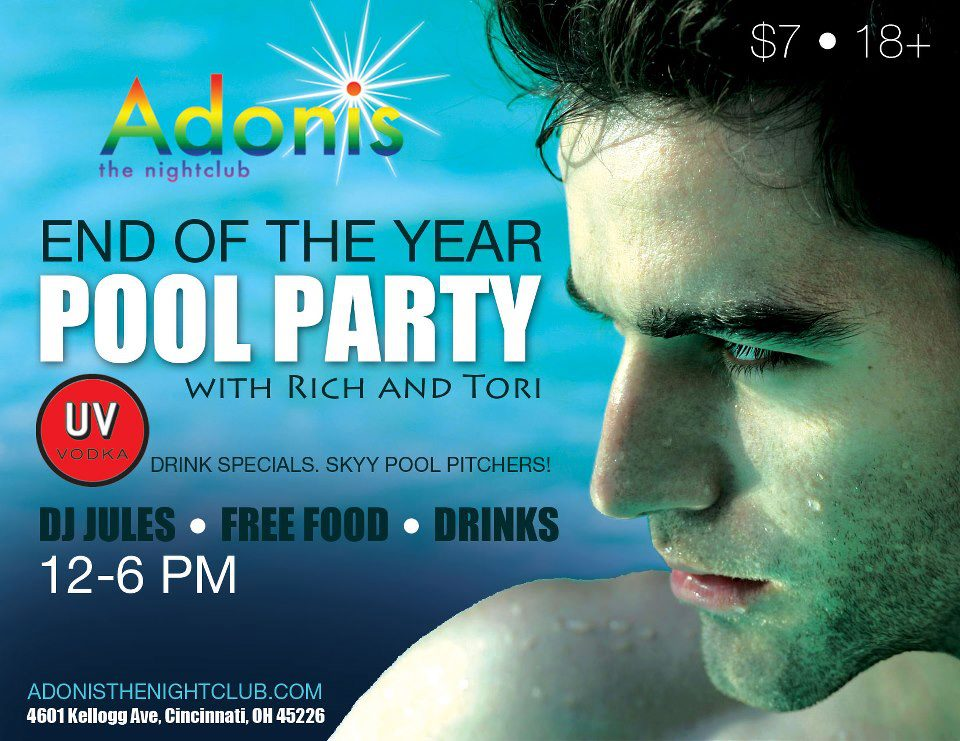 Ad | Adonis the Nightclub (Cincinnati, Ohio) | 9/2/2012