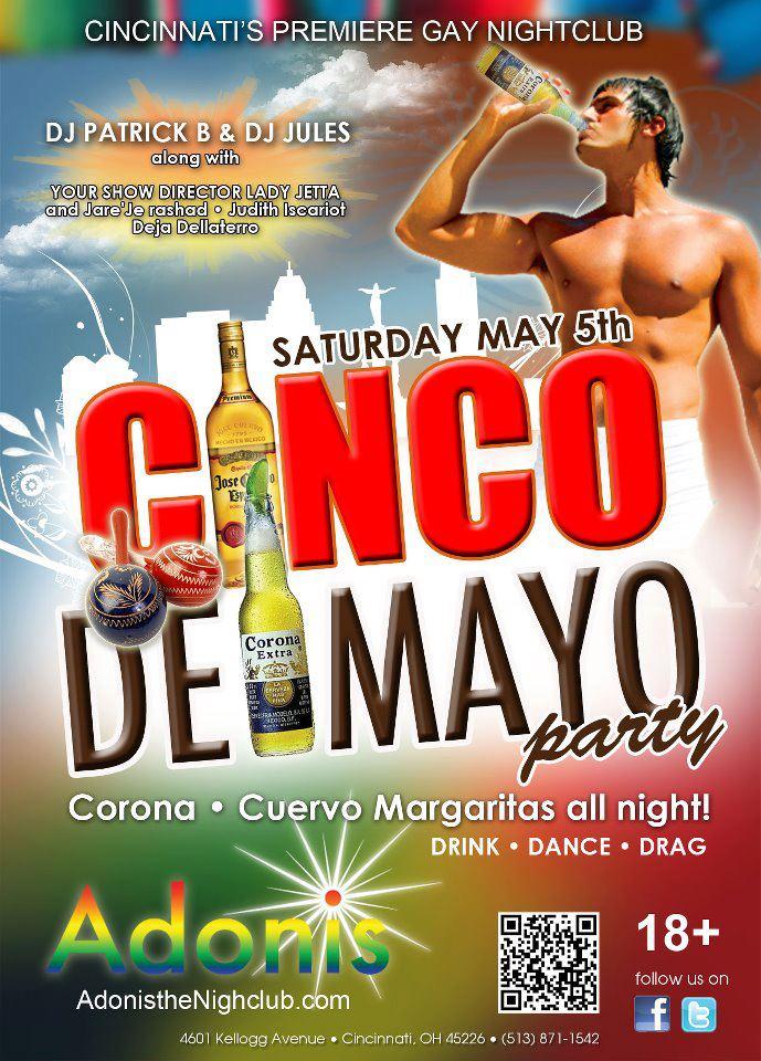 Ad   Adonis the Nightclub (Cincinnati, Ohio)   5/5/2012