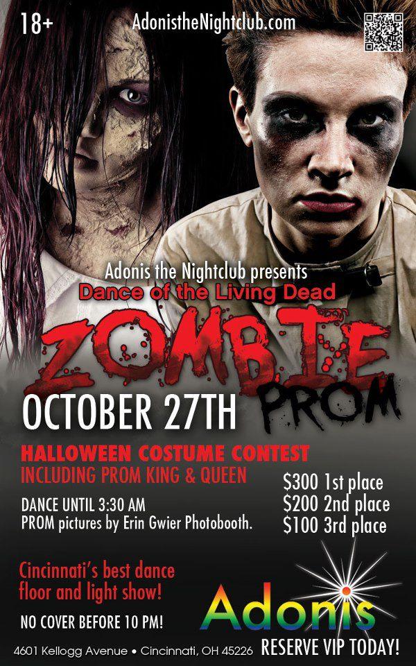 Ad   Adonis the Nightclub (Cincinnati, Ohio)   10/27/2012