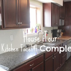 Kitchen Facelift Before And After Pot House Tour Complete Our Cone Zone