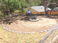 We Made A Fire Pit! - Our Cone Zone