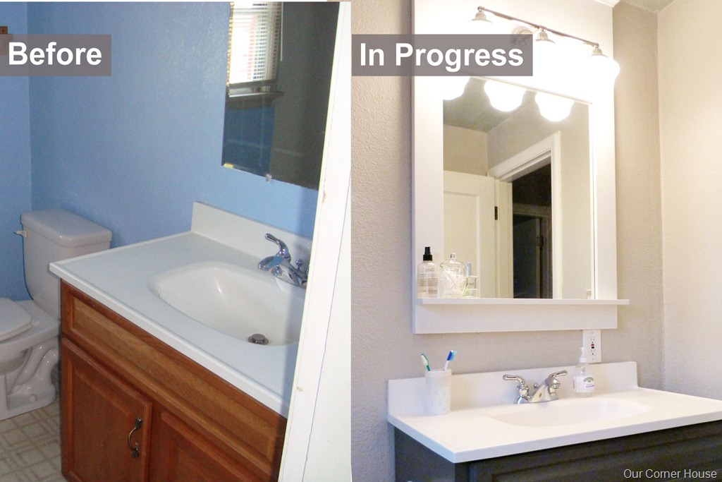 Inexpensive Bathroom Refresh