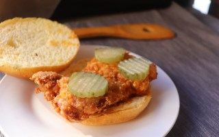 nashville hot chicken sandwich