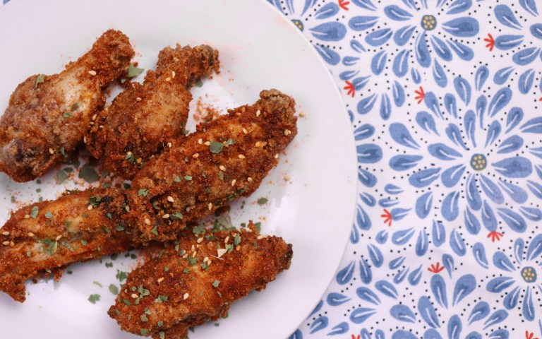 crispy asian wings