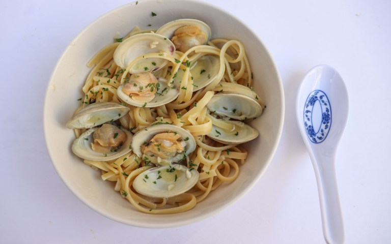 clam linguine
