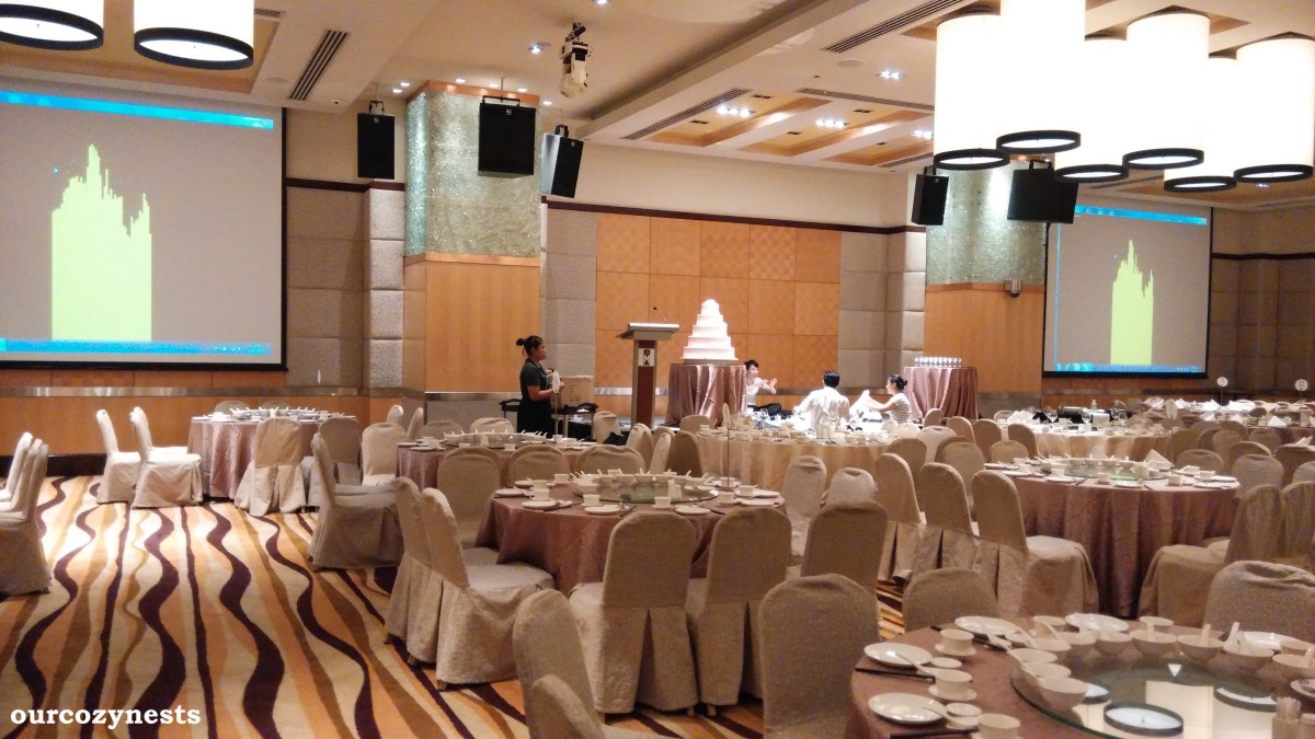 M Hotel Singapore Wedding Banquet Review  ourcozynests