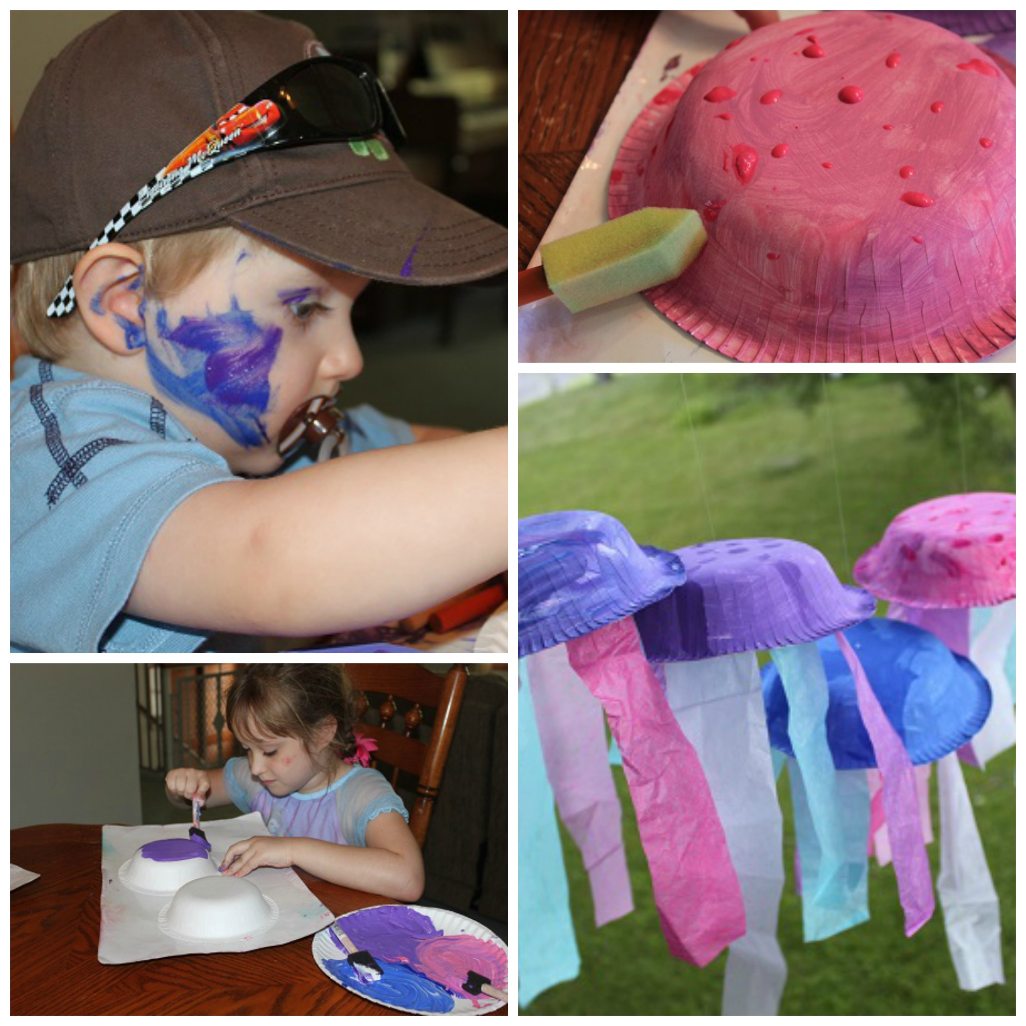 Our Crafts N Things Blog Archive Bee Crafty Kids Jellyfish Craft