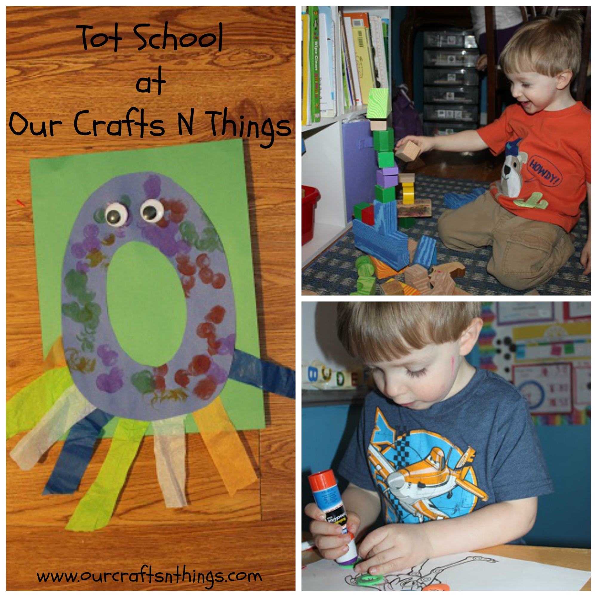 Our Crafts N Things Letter O