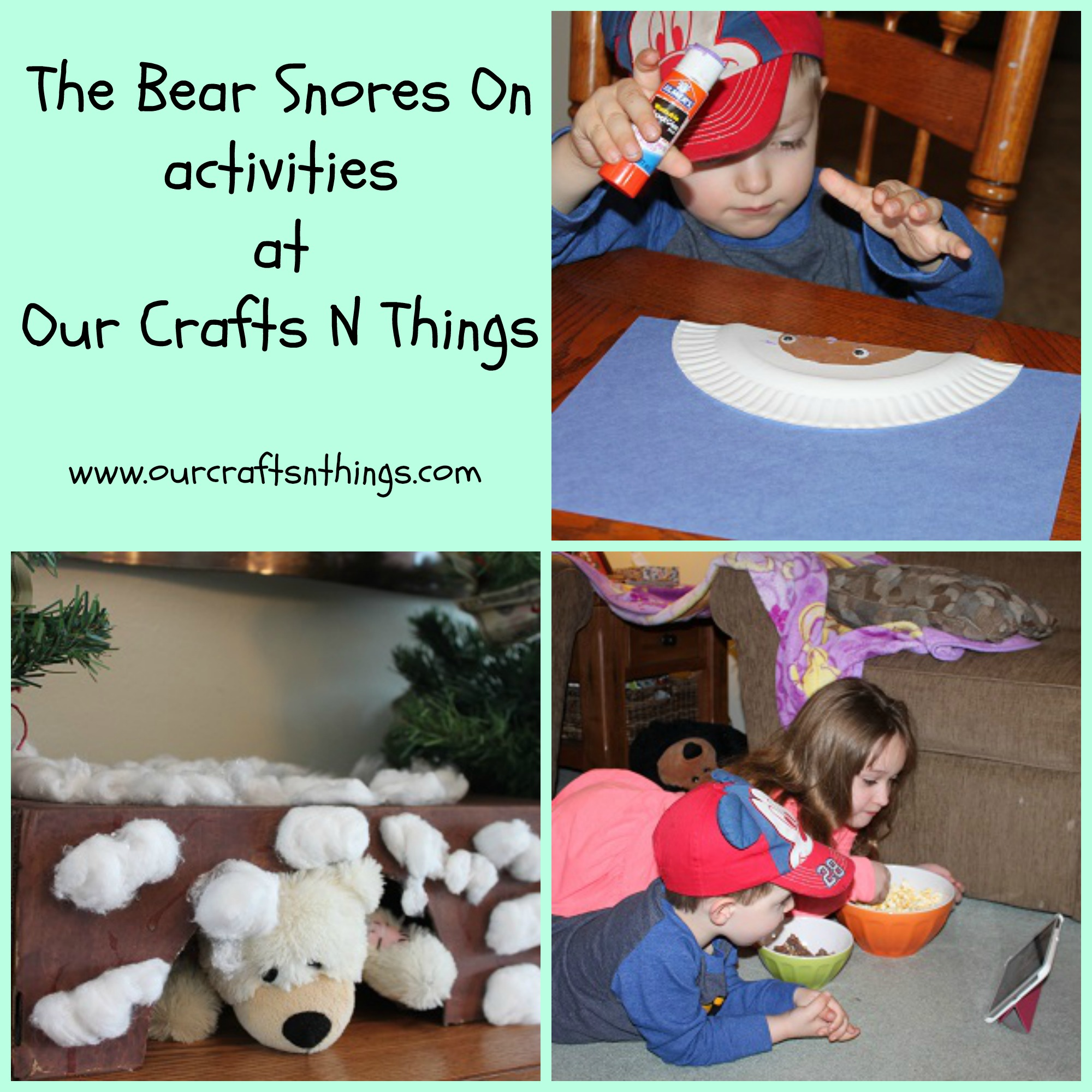 Our Crafts N Things Animals In Winter