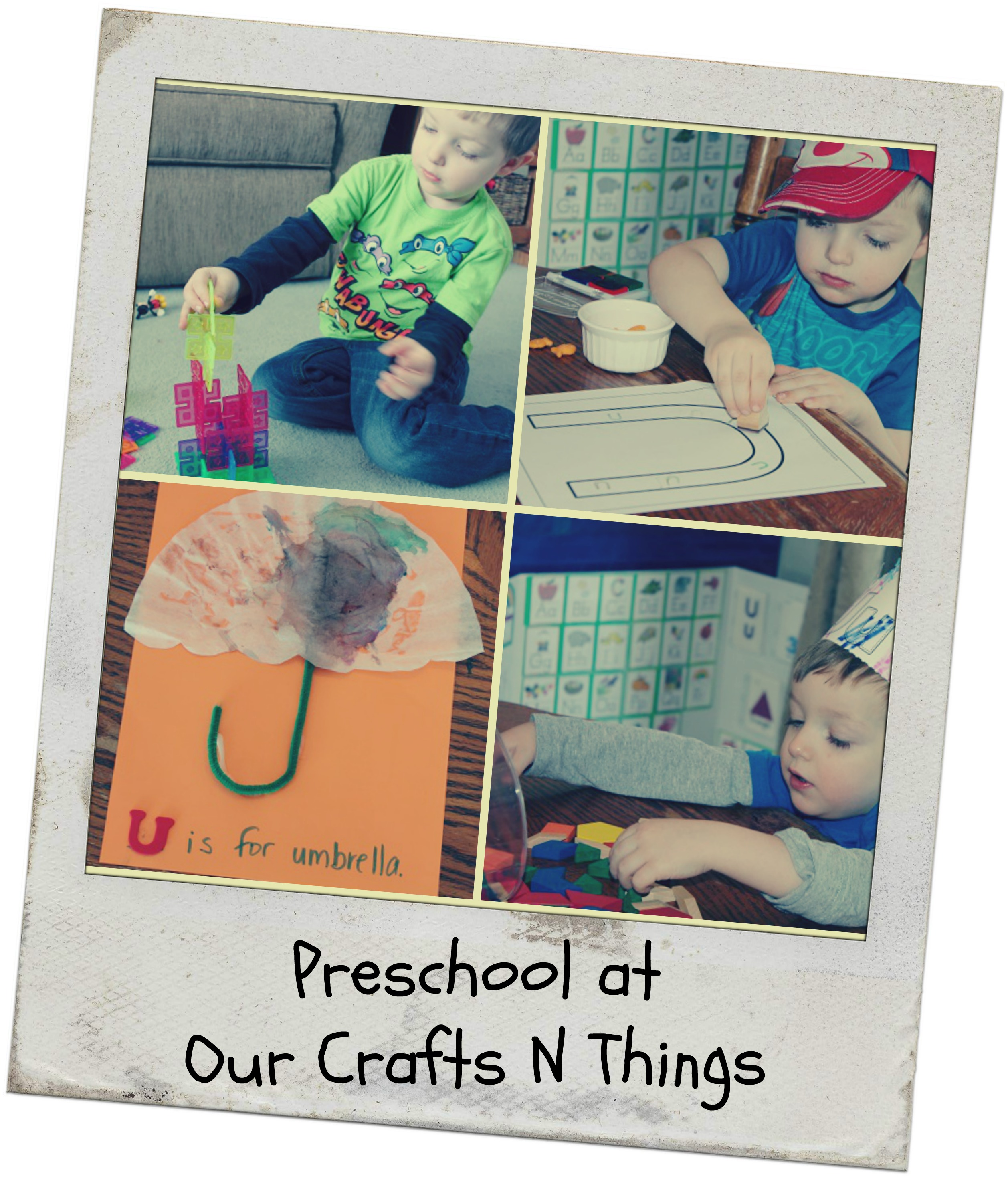 Our Crafts N Things Letter U