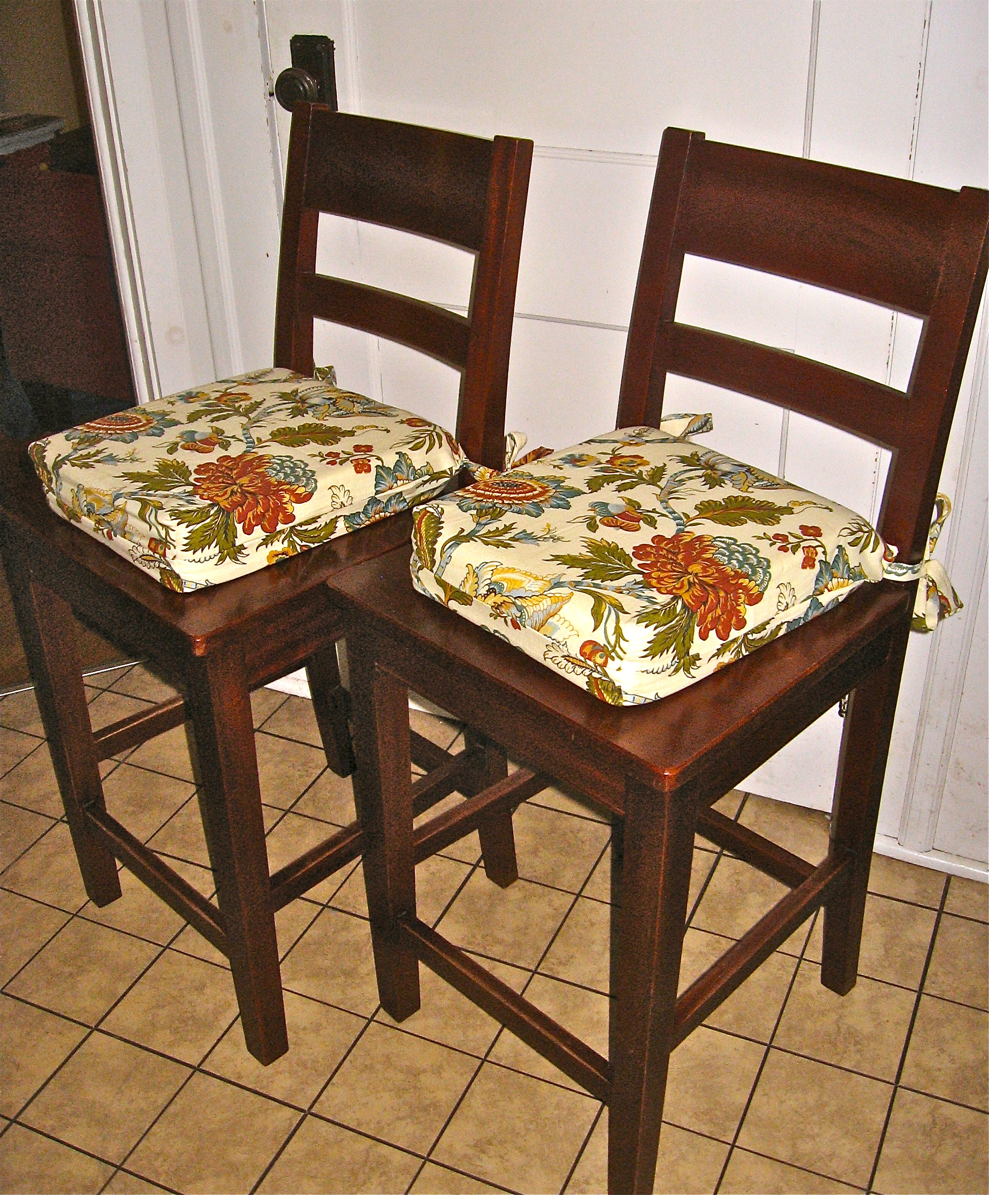 Chair Cushions For Kitchen Chairs Kitchen Chairs Tie On Cushions For Kitchen Chairs