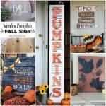 5 DIY Fun Fall Signs