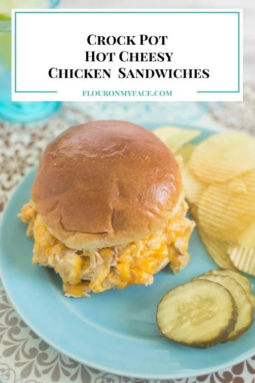 http://flouronmyface.com/crock-pot-hot-cheesy-chicken-sandwiches