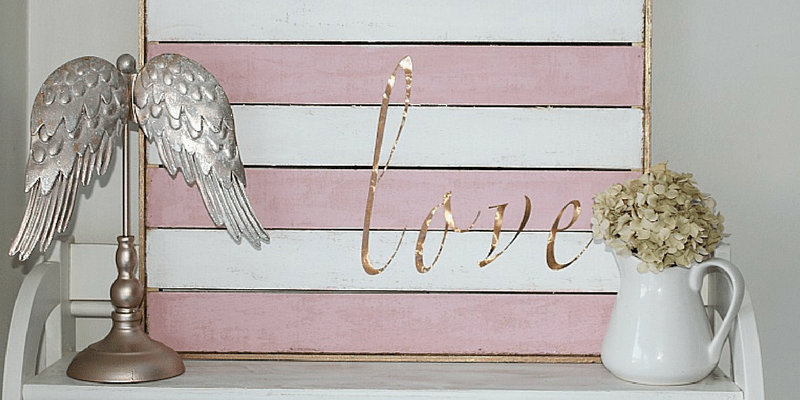 DIY Valentine's Day Love Sign Centsible Chateau
