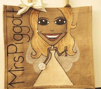 Baggies Bridal Tote Bag