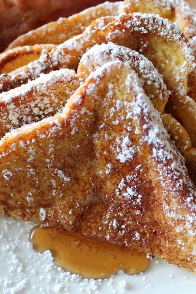 French Toast with bacon