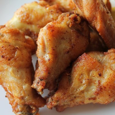 Crispy Lemon Pepper Chicken Wings