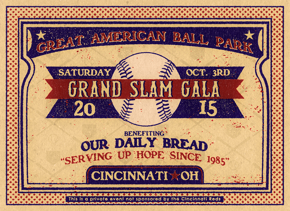 THE 2015 GRAND SLAM GALA BENEFITING OUR DAILY BREAD