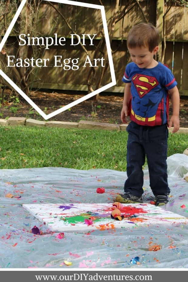 outdoor art and painting splatter painting kids crafts easter egg fun