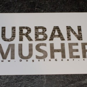 Urban Musher magnet
