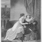 Juliet and the Nurse (engraving by James Parker)