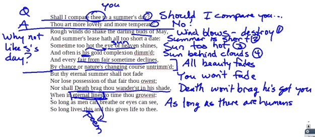 Second and fourth period's annotations