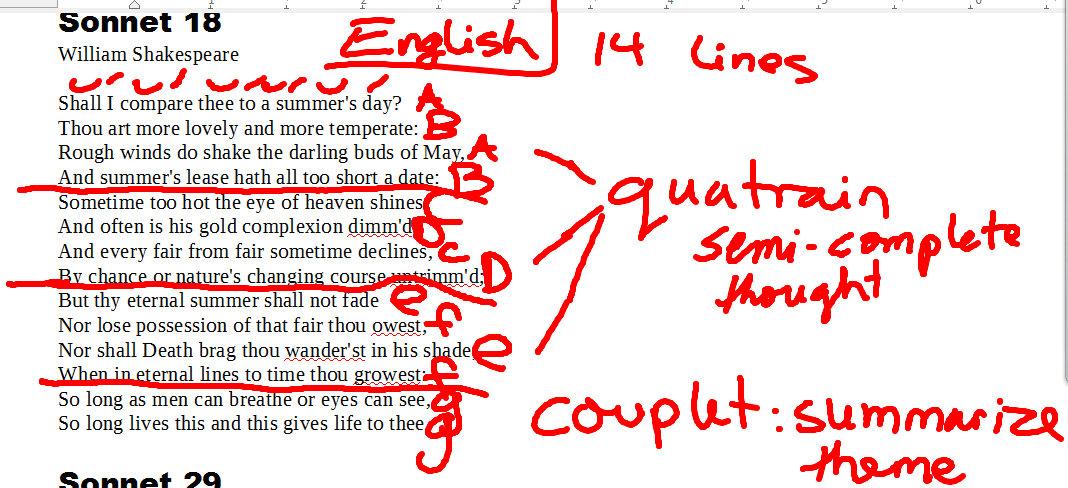 an analysis of the facebook sonnet An analysis of shakespeare's sonnet 130 the concept of love and beauty - - hausarbeit - anglistik - literatur - arbeiten publizieren: bachelorarbeit, masterarbeit.
