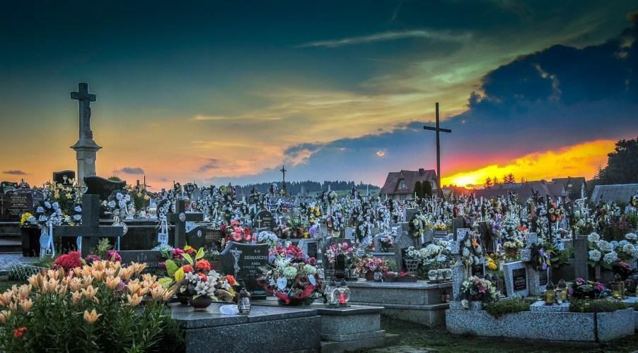 Cemetery in Lipnica