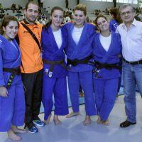 Marbel femenino pagó la novatada en su debut en la Liga de Judo