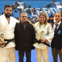 Dos platas del Marbel en el Campeonato Gallego de judo