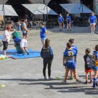 Ourense Rugby llevó el rugby a la Plaza Mayor