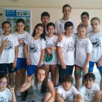 Buenos resultados para Natación Pabellón en Redondela, Lugo, Porriño y Coruña