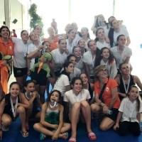 14 medallas para Sincro Ourense en Gallego de Nivel de Natación Sincronizada