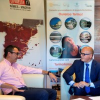 """Ourense, a provincia termal"" na caravana publicitaria de ""La Vuelta 2017"""