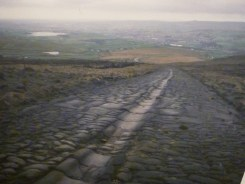 Photo of Fosse Way (Roman Road). They laid it straight even then.