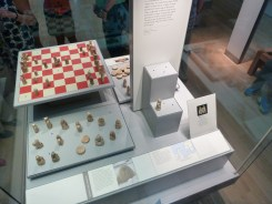 The Lewis Chessmen in British Museum