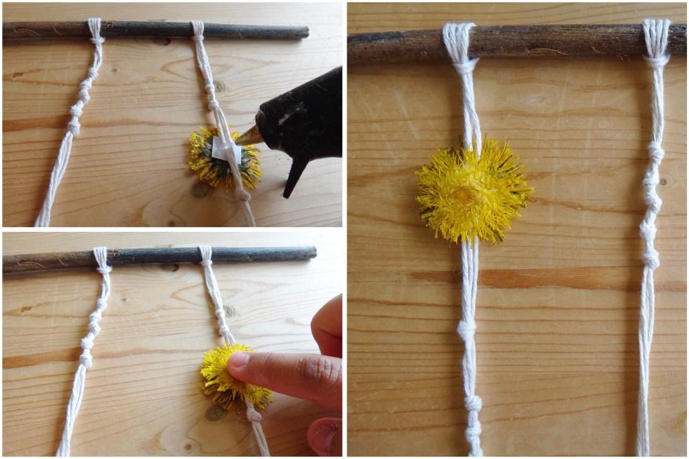DIY Nature Inspired Dandelion Mobile (7)