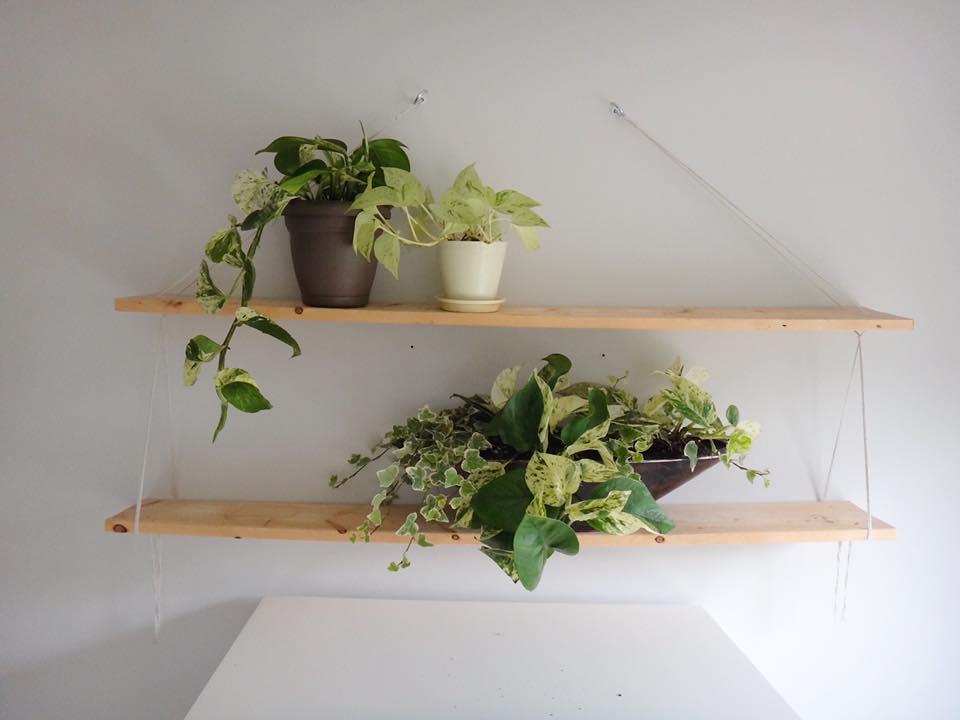 DIY Rope Shelves Edmonton Mommy Blogger (5)