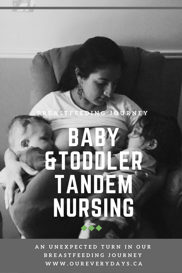 Baby and Toddler Tandem Breastfeeding