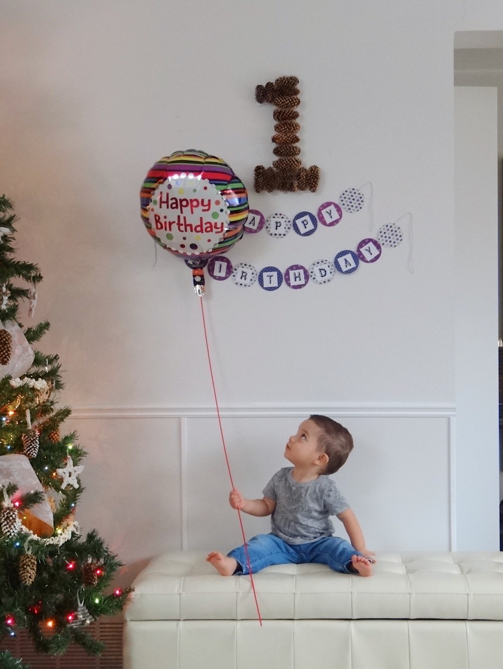First Birthday Oliver Turns One Mommy Blog (6)
