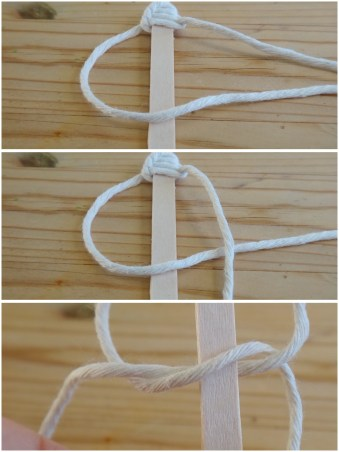 Spiral Knot DIY Macrame Christmas Star