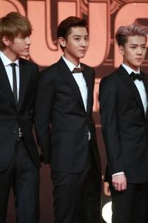 Kris, Chanyeol, Sehun _2