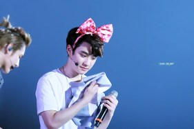 D.O. in a Minnie Mouse bow